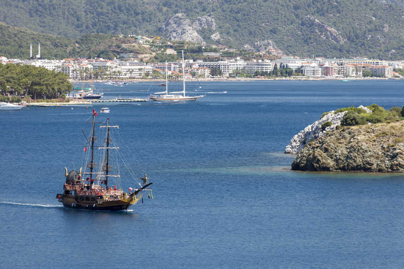 Best Daily Boat Trips In Marmaris Tickets With Master Guide